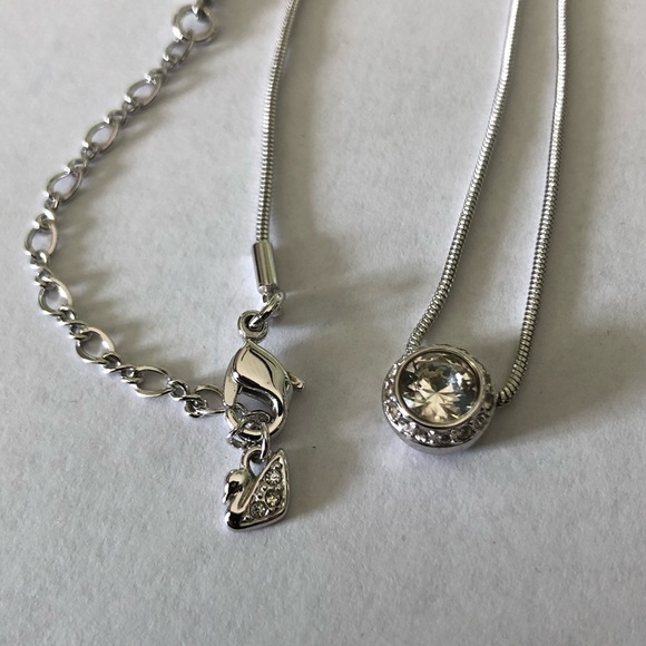 8eb1badce Swarovski Jewelry   Crystal Angelic Pendant Necklace Nwt   Poshmark
